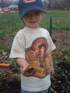Spring Planting in the Community Garden