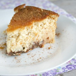 A Nourishing Dessert: Gluten Free Coconut Custard Cake