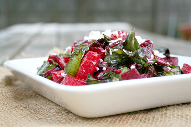 A Summer Salad: Beet and Watermelon Salad | myhumblekitchen.com