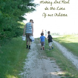 Our Homeschool Mission: Making God Real in the Lives of Our Children | myhumblekitchen.com