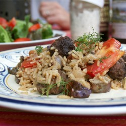 A Late Summer Recipe: Turkish Pilaf | myhumblekitchen.com