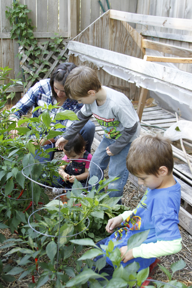 Kids in the Garden | myhumblekitchen.com