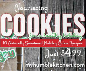 Nourishing Cookies for a Healthy Holiday - myhumblekitchen.com