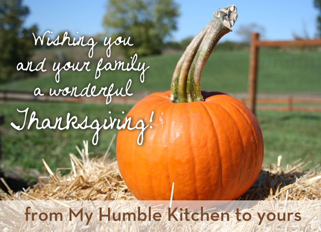 This Thanksgiving, I'm Thankful for You!
