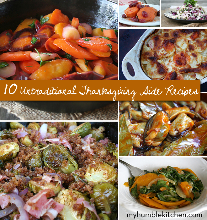 10 Untraditional Thanksgiving Side Dishes | myhumblekitchen.com