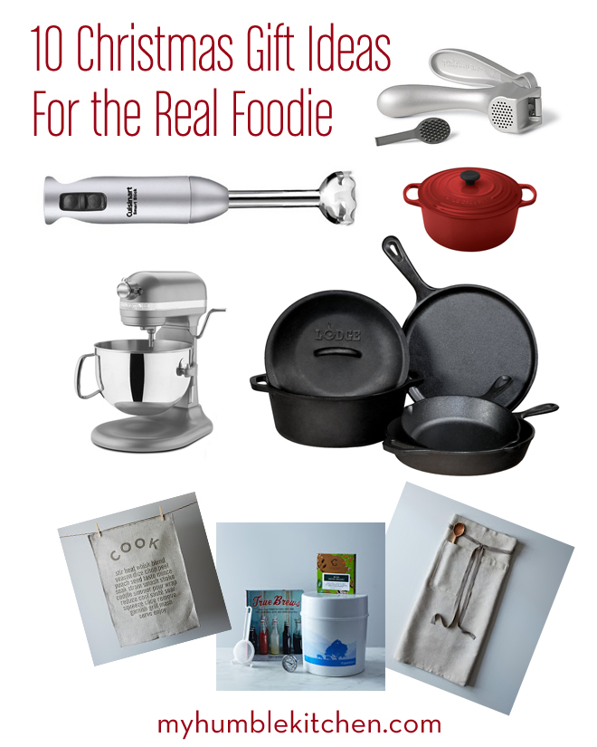 10 Christmas Gift Ideas For The Real Foodie My Humble