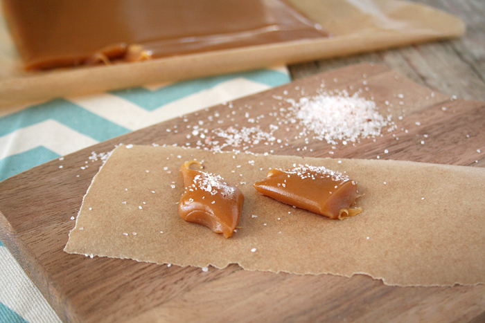 Naturally Sweetened, Honey Salted Caramels | myhumblekitchen.com
