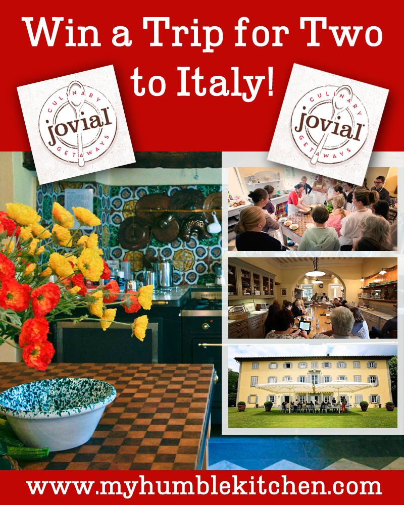 Win A Trip for Two to Italy with Jovial!