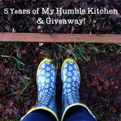5 Years of My Humble Kitchen & Giveaway! | myhumblekitchen.com