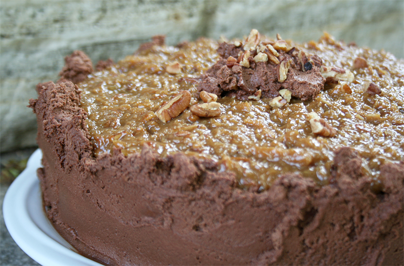German Chocolate Cake Recipe Joy Of Baking: Modern Buttercream And How To Build A Tiered Cake