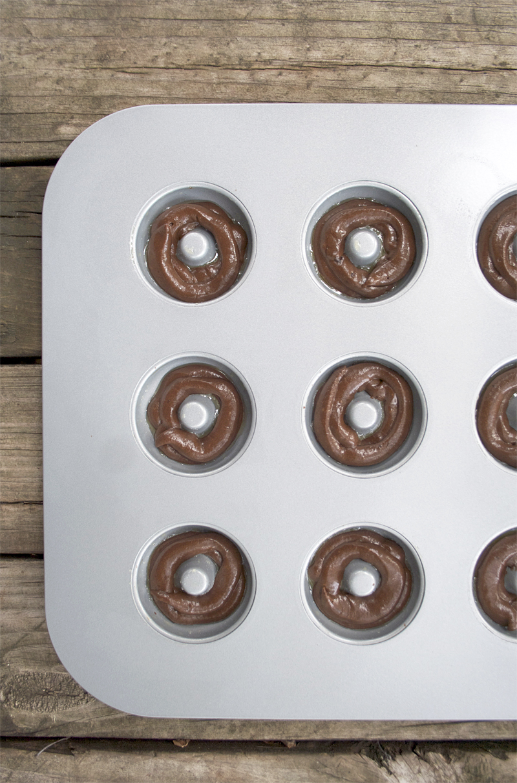 Chocolate Baked Einkorn Doughnuts | myhumblekitchen.com