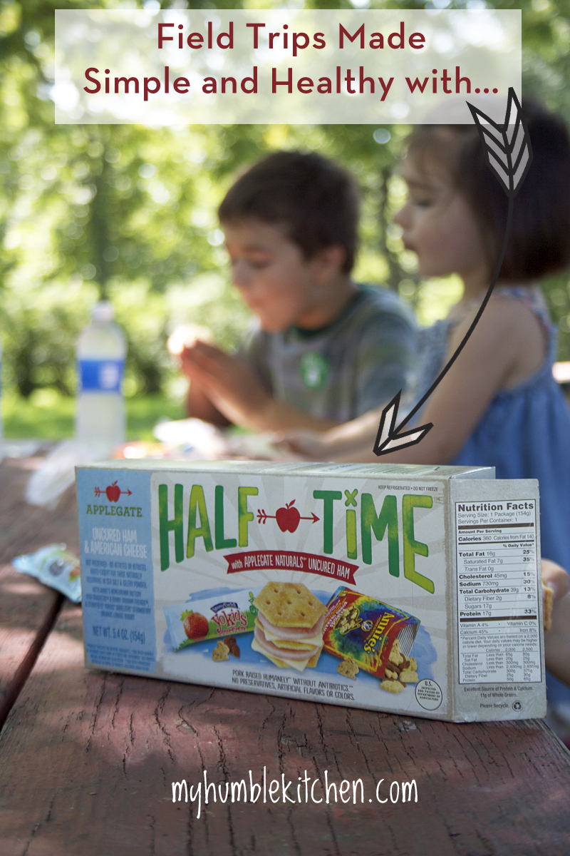 Field Trips Made Simple and Healthy With Half Time! | myhumblekitchen.com