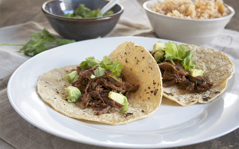 Braised, Mexican Beef Tacos | myhumblekitchen.com