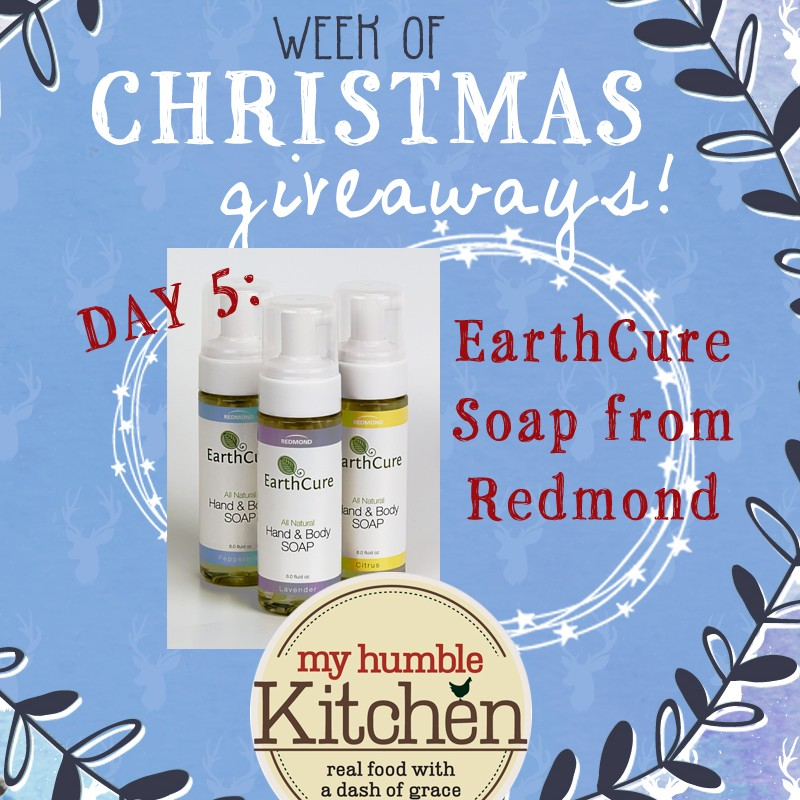 My Humble Kitchen's Week of Christmas Giveaways: Day 5 - Redmond | myhumblekitchen.com