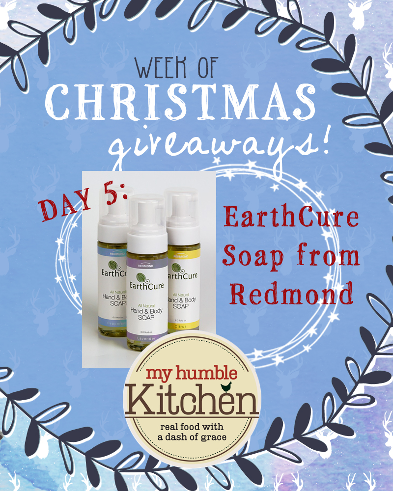 My Humble Kitchen's Week of Christmas Giveaways – Day 5 With Redmond!