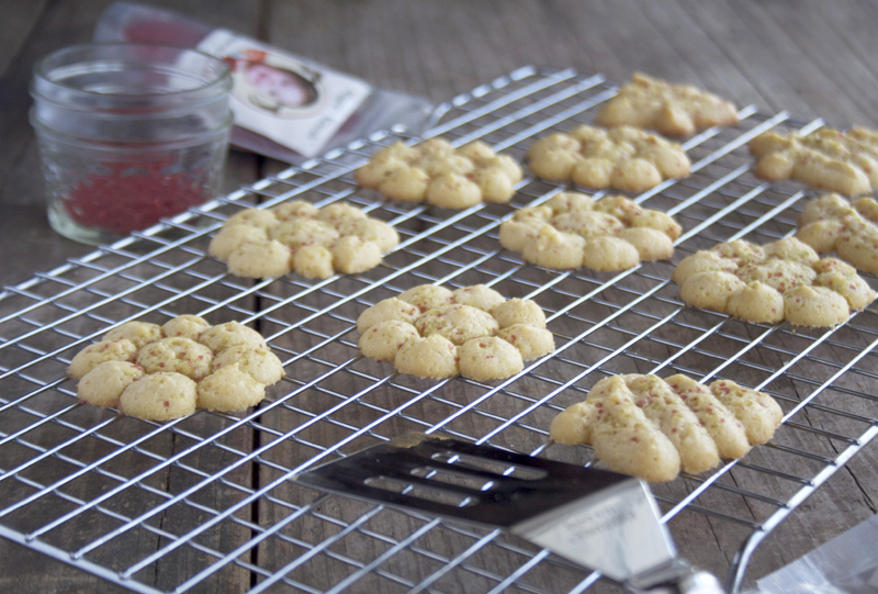 Honey Sweetened, Einkorn Spritz Cookies and Giveaway! - My Humble ...