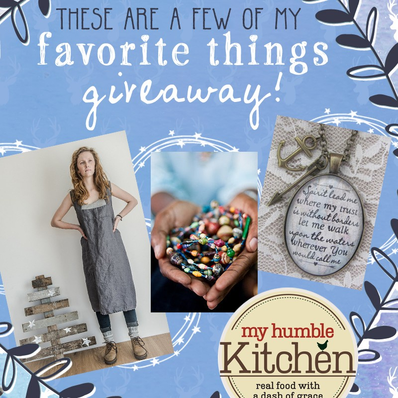 My Favorite Things Giveaway - Day 3 | myhumblekitchen.com