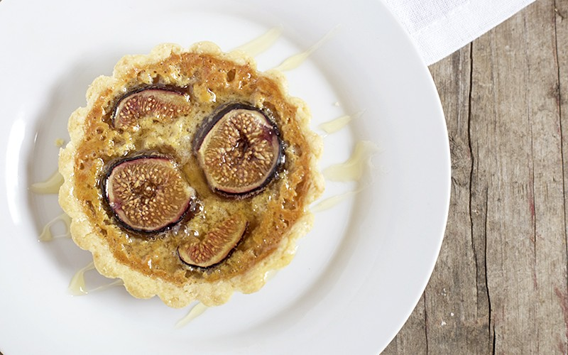 Fig and Honey Tartlets | myhumblekitchen.com