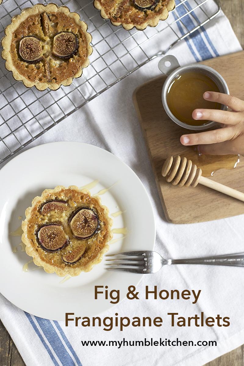 Fig and Honey Frangipane Tartlets