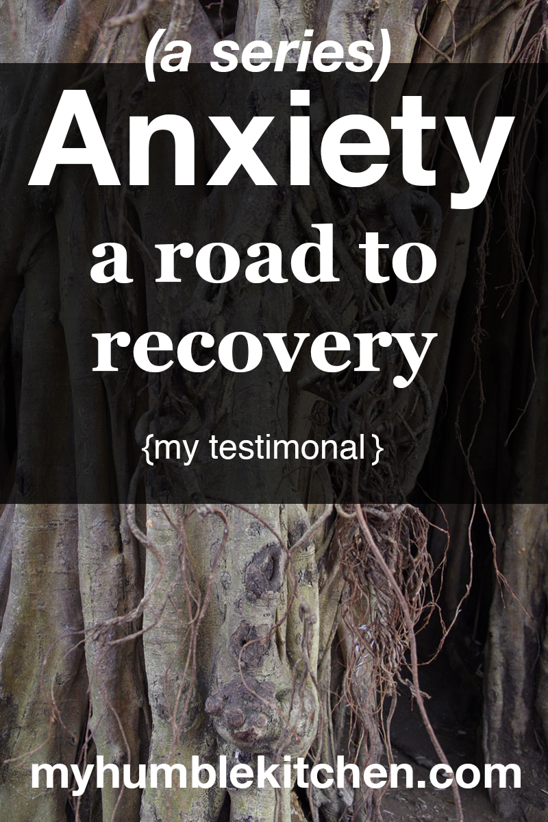 Anxiety - A Road to Recovery (my testimonial) - myhumblekitchen.com