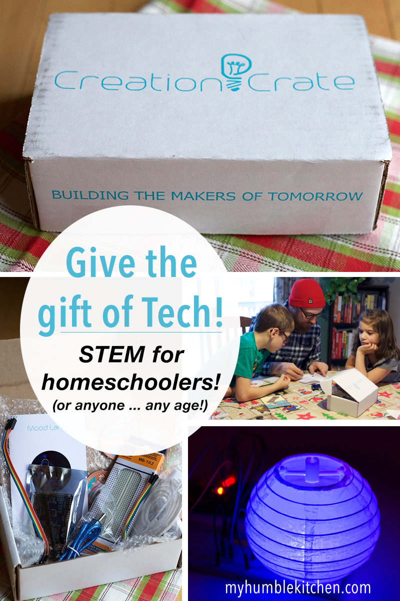 Creation Crate – Give the Gift of Tech PLUS Special Discount Code!