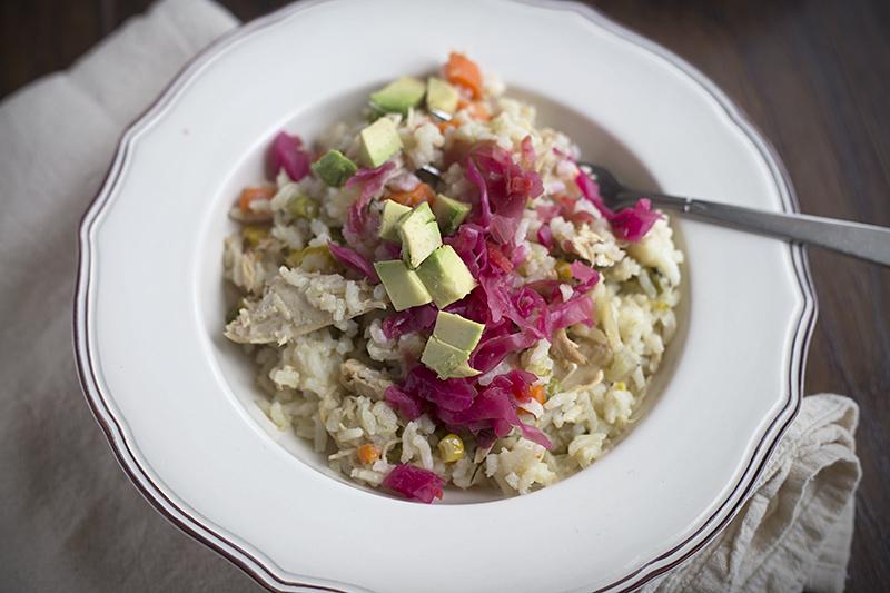 A Simple Arroz Con Pollo – Chicken with Rice