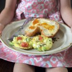 Baked Frittata Kids Can Make for Mother's Day | myhumblekitchen.com