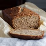 Naturally Sweetened, Whole Wheat Einkorn Banana Bread | myhumblekitchen.com