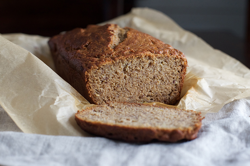 Whole Wheat Einkorn Banana Bread – Honey Sweetened